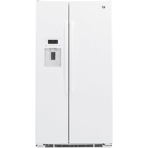 GE GZS22DGJBB 21.9 Cu. Ft. Counter-Depth Side-By-Side Refrigerator