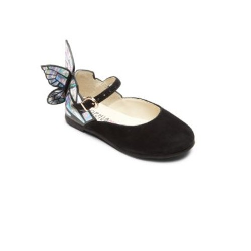 Baby's, Toddler's & Kid's Mini Chiara Butterfly Suede Mary Jane Flats