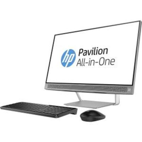 HP Z5L99AAABA Pavilion All-In-One Desktop Computer - 24-A210 silver
