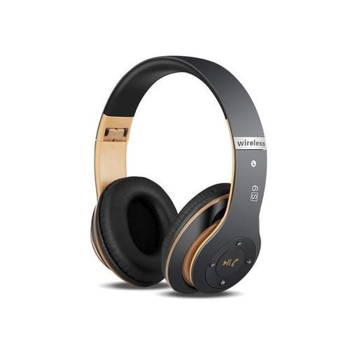 TinkSky Wireless Bluetooth Headphone Foldable Bluetooth Headset V4.0 On-Ear Design Stereo Bass Headset