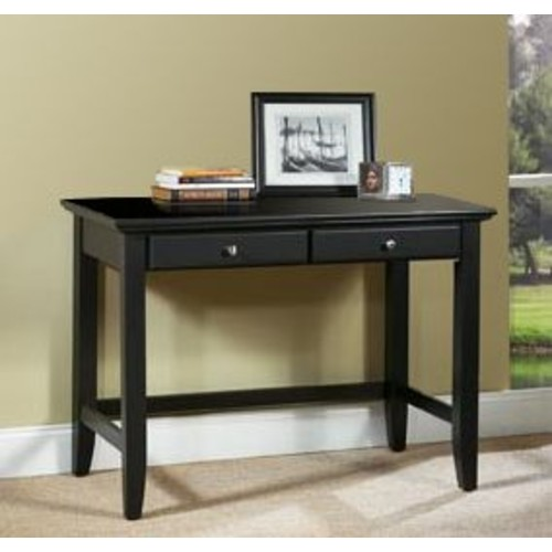 Home Styles Bedford Student Desk in Black