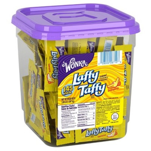 Laffy Taffy Banana Tub - 145ct