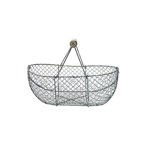 French Oyster Gathering Basket