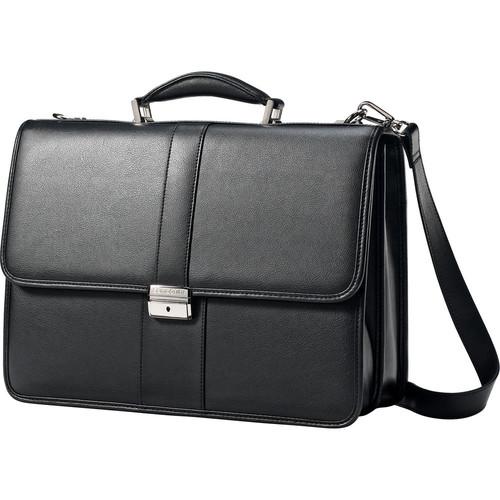 Leather Flapover Case (Black)