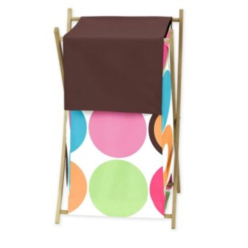 Sweet Jojo Designs Deco Dot Laundry Hamper