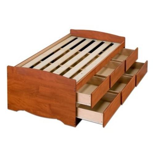 Prepac Monterey Twin Wood Storage Bed