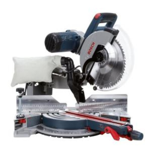 Bosch 15 Amp Corded 12 in. Dual-Bevel Glide Miter Saw with 60-Tooth Blade