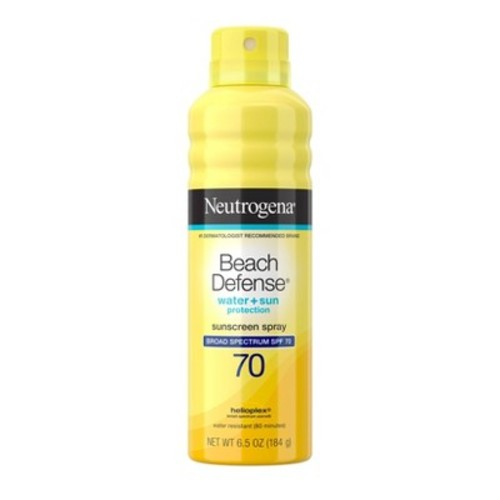 Neutrogena Beach Defense Broad Spectrum Sunscreen Body Spray - SPF 70 - 6.7oz