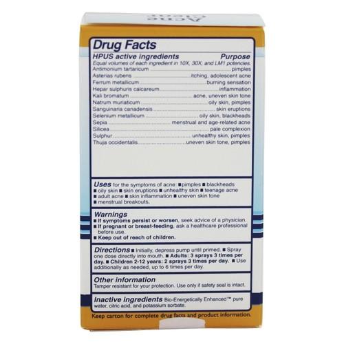 King Bio Homeopathic Acne Clear -- 2 fl oz