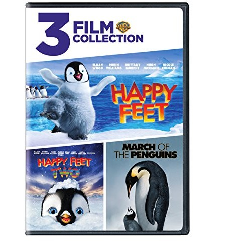 Happy Feet/Happy Feet 2/March of the Penguins (DVD) (Triple Feature): Various: Movies & TV