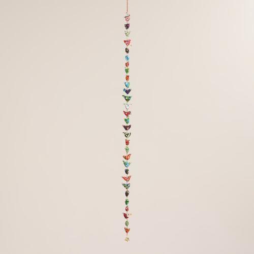 Multicolor Fabric Birds Hanging Decor