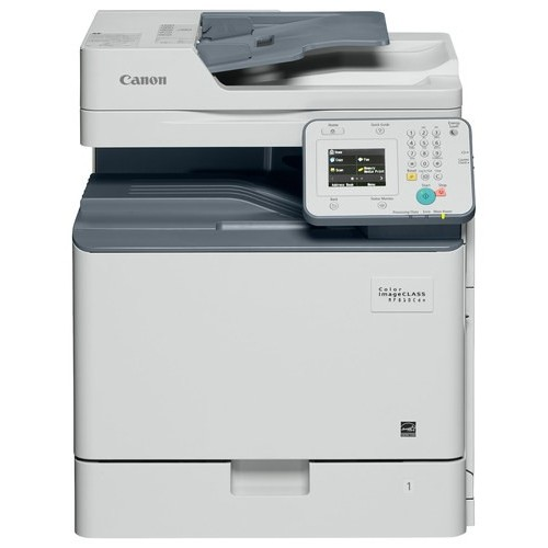 Canon - imageCLASS MF810CDN Color All-in-One Printer - White