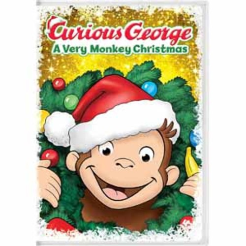 Curious George: A Very Monkey Christmas [DVD]