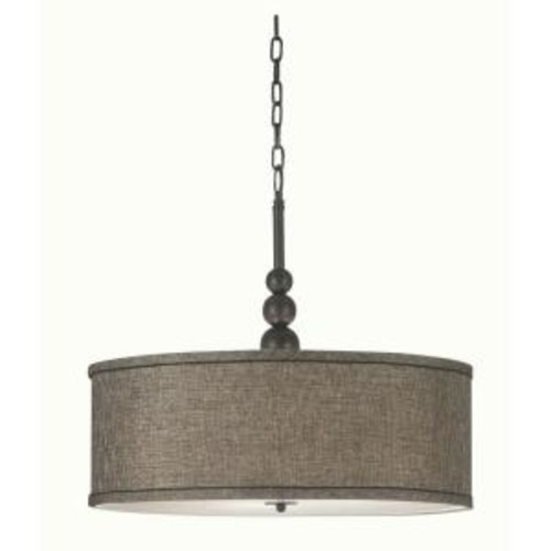 Kenroy Home Margot 3-Light Oil-Rubbed Bronze Pendant