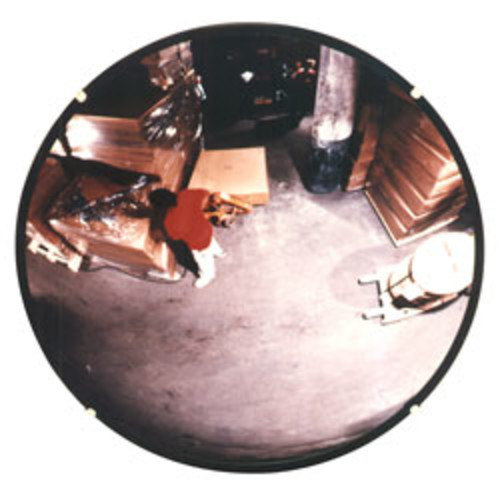 See-All Round Glass Convex Mirror, 18
