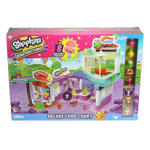 Shopkins Kinstructions Deluxe Food Court Playset