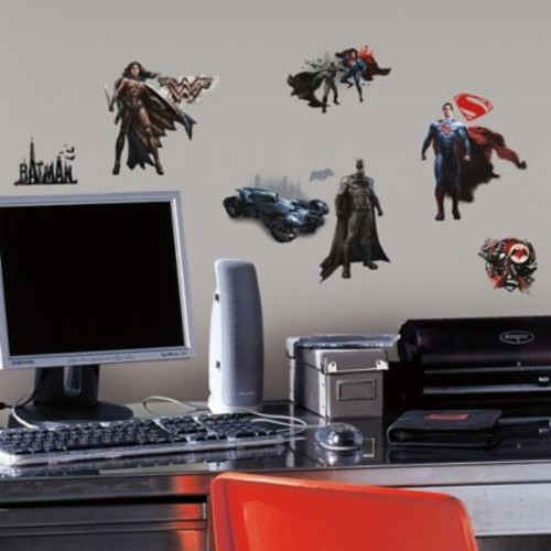 Batman vs Superman Peel and Stick Wall Decals