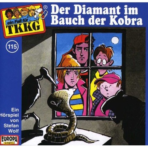 115/Der Diamant im Bauch der Kobra [CD]