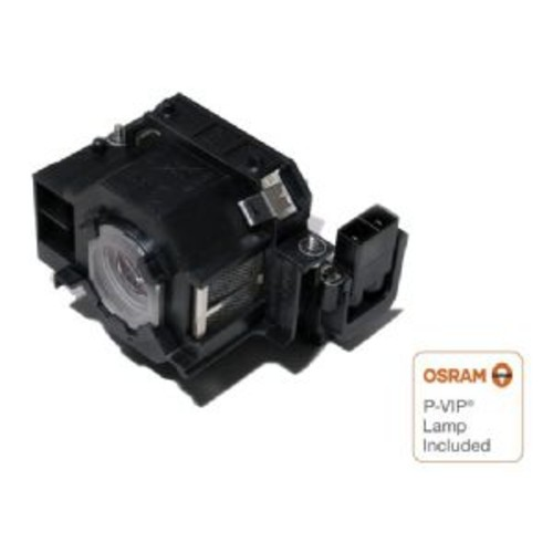 eReplacements Epson Replacement Projector Lamp - Equivalent to ELPLP42, 2000 Hours, For Epson EB-410W, EB-410We, EMP-280, EMP-400We, EMP-822, EMP-822H, EMP-83e, Epson PowerLite - ELPLP42-OEM
