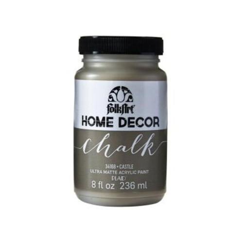 FolkArt Home Decor 8 oz. Castle Ultra-Matte Chalk Finish Paint