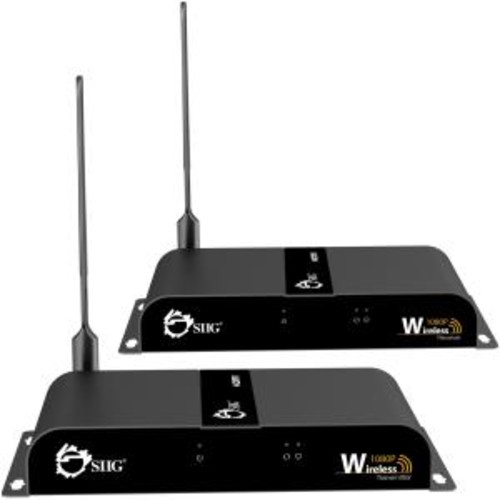 SIIG Wireless 1080P HDMI Video Kit - Mid-Range - Wireless video/audio/infrared extender - HDbitT - up to 164 ft