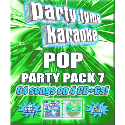 Party Tyme Karaoke: Pop Party Pack 7 4 Disc CD (CD+Gs)