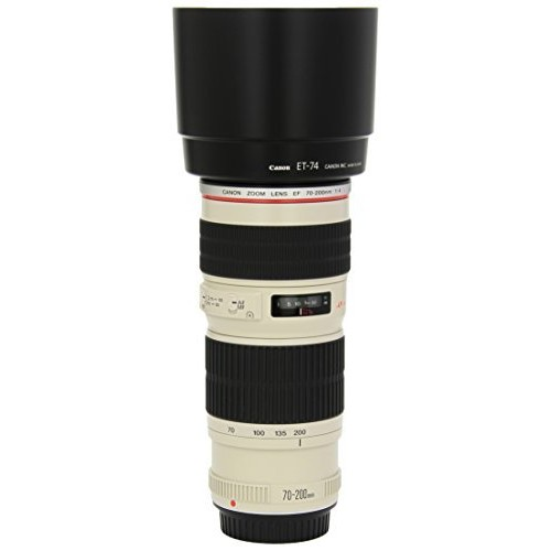 Canon EF 70-200mm f/4L USM Telephoto Zoom Lens for Canon SLR Cameras [Lens Only]
