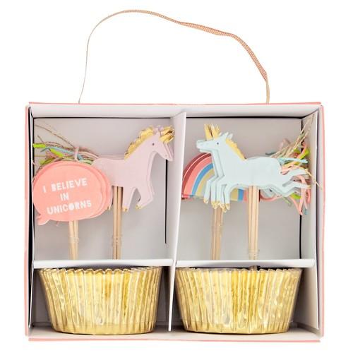 Unicorn Cupcake Kit (Set of 24)