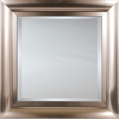Mirror Image Home Mirror Style 81178 - Brushed Chrome Stainless; 28.25 x 32.25