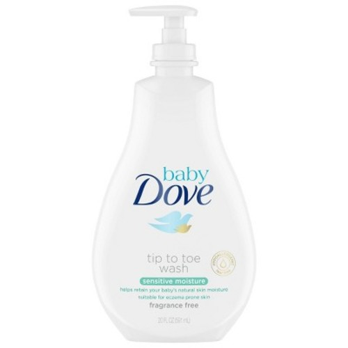 Baby Dove Tip to Toe Sensitive Moisture Body Wash - 20 Ounce