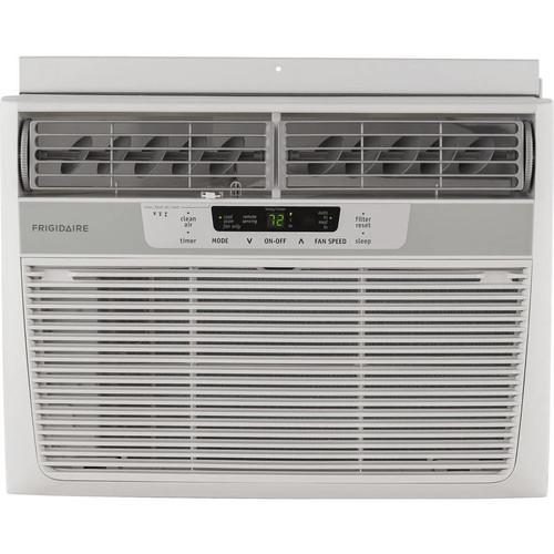 Frigidaire FFRE1233Q1 Energy Efficient 12,000-BTU 115V Window Mounted Compact Air Conditioner with Temperature Sensing Remote Control