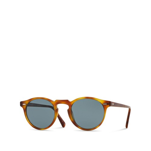 Gregory Peck Round Sunglasses, 47mm