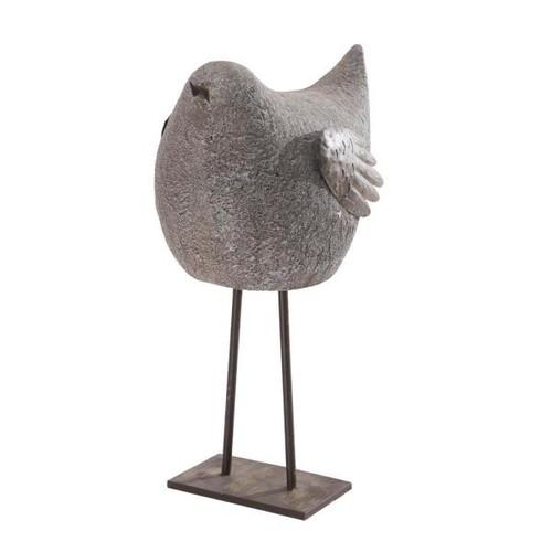 Sunjoy Whimsical Sparrow Garden Statue