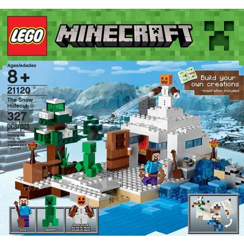 LEGO - Minecraft The Snow Hideout