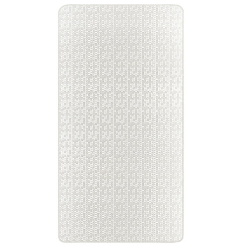 Dream On Me Breathable 6 inch 2-in-1 Foam Core Crib and Toddler Bed Mattress - White