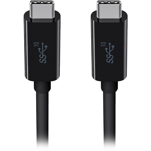 Belkin - 3' USB Type C-to-USB Type C Device Cable - Black