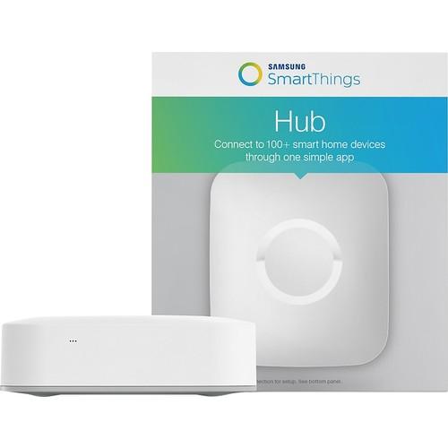 Samsung - SmartThings Hub - White