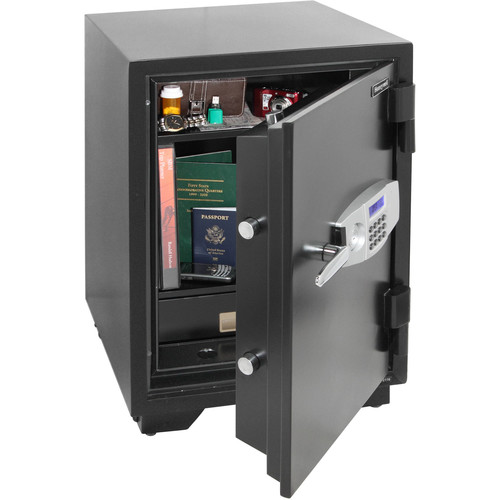 Honeywell 2.35 cu. ft. Steel Fire Security Safe with Electronic Lock, 2116
