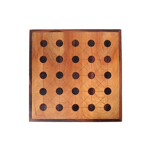 Inlaid Teeko Game Board