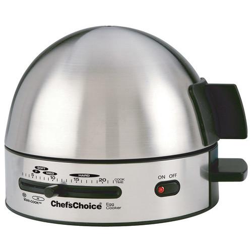 Chef'sChoice - International Gourmet 7-Egg Cooker - Black/Stainless Steel