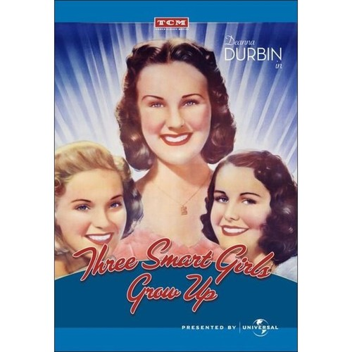 Three Smart Girls Grow Up [DVD] [1939]