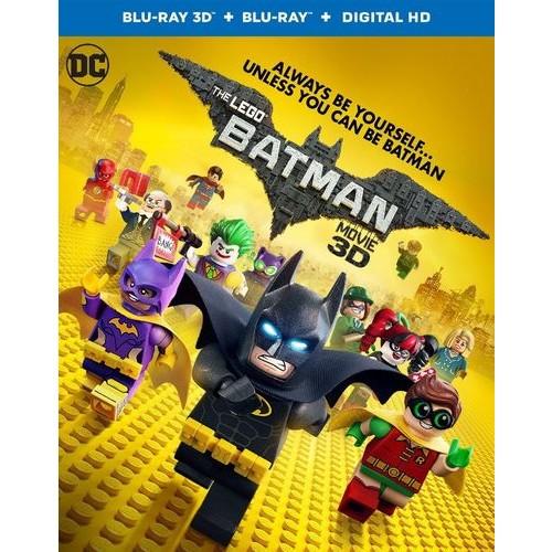 The LEGO Batman Movie [3D] [Blu-ray] [Blu-ray/Blu-ray 3D] [2017]