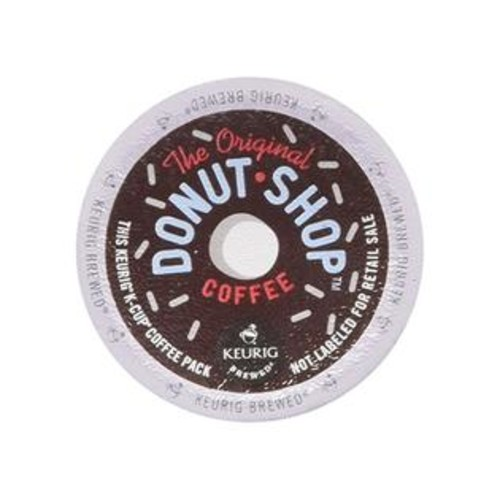 The Original Donut Shop Coffee People Donut Shop Medium Roast Extra Bold, 18-Count/0.39Oz. K-Cups For Keurig Brewers