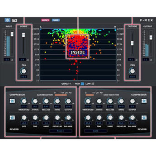 F-REX Audio Processor for Volume, Frequency, and Panning (Download)