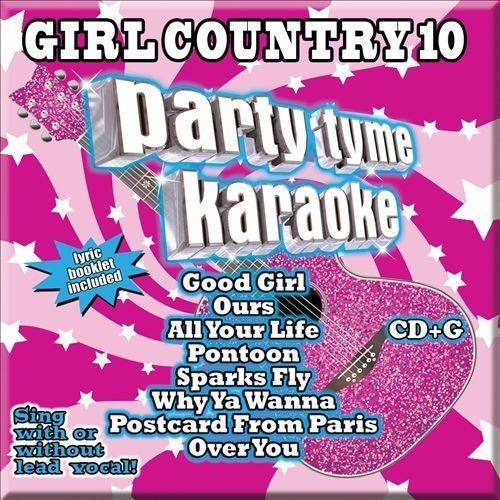 Party Tyme Karaoke: Girl Country, Vol. 10 [CD + G]