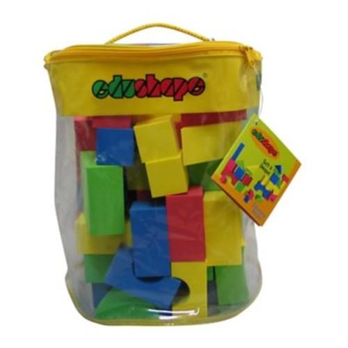 Edushape 80 Piece EduColor Blocks