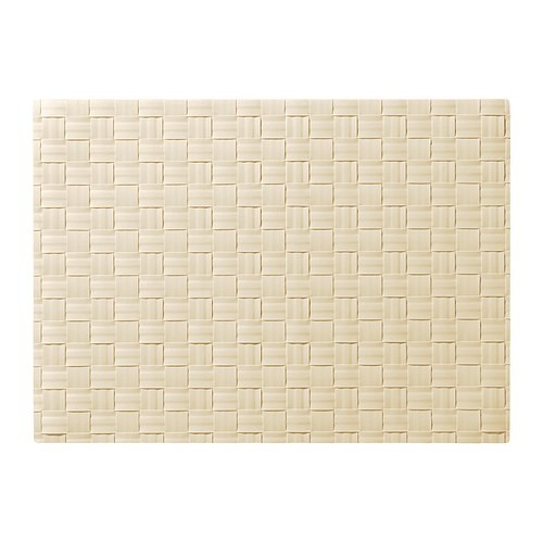 ORDENTLIG Place mat, off-white