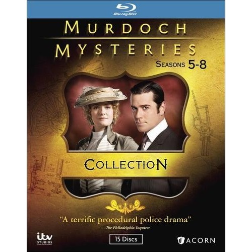 Murdoch Mysteries: Seasons 5-8 [Blu-ray]