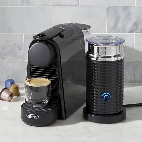 Nespresso  by DeLonghi Essenza Mini Black Espresso Maker Bundle