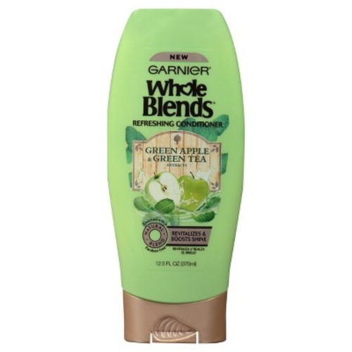 Garnier Whole Blends Conditioner with Green Apple & Green Tea Extracts 12.5 FL OZ